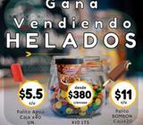 MAYORISTA ALIMENTOS GANE VENDIENDO HELADOS