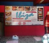 Pizzeria Pizzas Empanadas Rabas Hamburgueseria Minutas Delivery en San Martin IBIZA