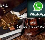 ABOGADO- ACCIDENTES de TRANSITO. LABORAL. Whatsapp: 3517048679