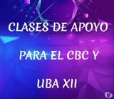 Clases particulares de Matemáticas cbc, uba xxi, etc