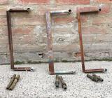 Separadores para amurar caño radiadores caldera 50 cm