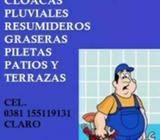 Urgencias Plomeria Destranques 24hs