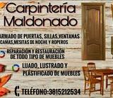 Carpintería en Madera a Domicilio
