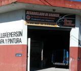 TALLER DE CHAPA Y PINTURA zona SUR