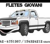 FLETES Y MUDANZAS GIOVANI