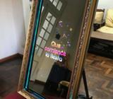Alquiler de Espejo Mágico Magic Mirror Con Snapchat Promo Fiestas de 15 y Casamientos