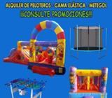 ALQUILER DE PELOTEROS, CAMA ELASTICAS,METEGOL, MESITAS Y SILLITAS INFANTILES CEL 3764138952