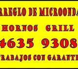 *ARREGLO DE HORNOS DE MICROONDA* 01146359308
