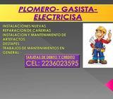 ELECTRICISTA PLOMERO GASISTA