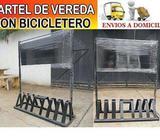 NUEVOS!!! BARBERIA KIOSCOS COMERCIOS CARTEL BICICLETERO