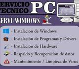 NOTEBOOK - PC - CUALQUIER MARCA - Reparación