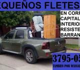 PEQUEÑOS FLETES EN CORRIENTES CAPITAL E INTERIOR. RESISTENCIA. BARRANQUERAS