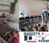 GASISTA Matriculado - PLOMERO - Seguridad ,Calidad y Experiencia para su Hogar ! - cel 2916441010