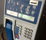 Teléfono Publico de pared a monedas y tarjetas Marca IPM