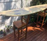 Tabla Surf Chiba Resina 7.2 Usada Excele