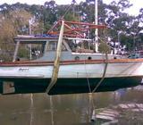 Barco Crucero 9,50 Mts a Teminar