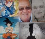 Cuadros Murales Retratos