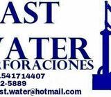 Perforaciones de agua Zona Oeste
